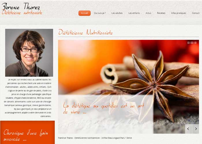 dieteticienne paris 13 : template joomla 3 responsive