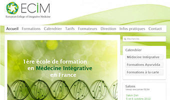 european college of integrative medecine template joomla