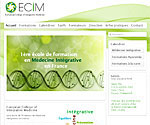 """Template Joomla 2.5 responsive - European college of integrative medicine"