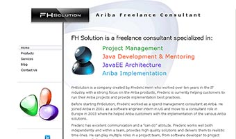 fh solution template joomla