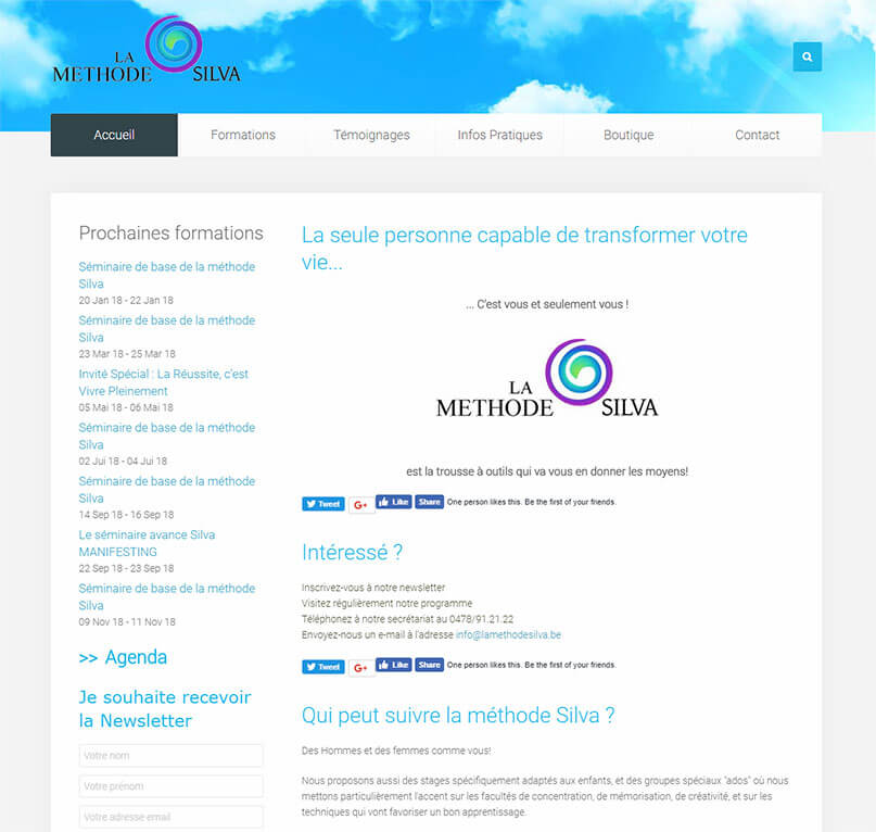La methode silva : template Joomla