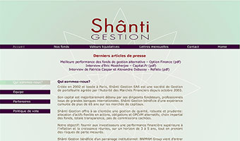 template Joomla shant gestion