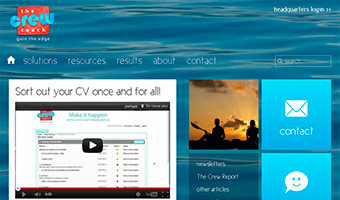 the crew coach :  Migration du site statique sous Joomla 2.5